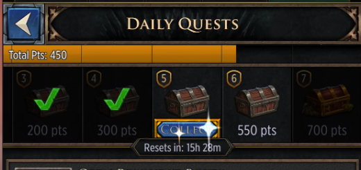 GoT:C - Daily Quests – HBO Games